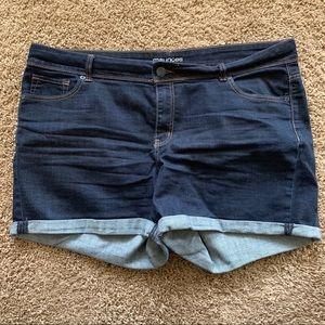 Maurice's Plus Size Denim Shorts